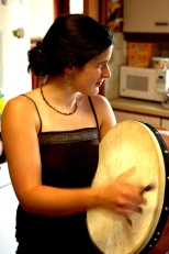 Example of a bodhrán. Source: Connor Lawless, Flickr.