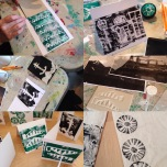 Lino Printing (card making)